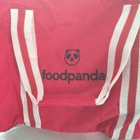 Спорта раница с Бродерия foodpanda