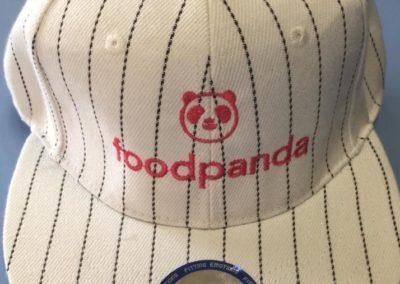 Бейзболна шапка с бродерия foodpanda