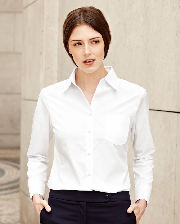 b1076be7e81 Елегантна официална дамска риза за бродерия