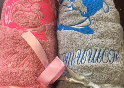 Бродерия на кърпа