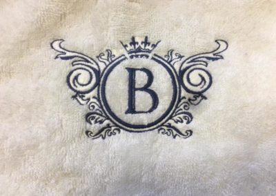 Бродерия на кърпи и халати хотел България