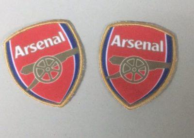 Бродерия Апликация Arsenal