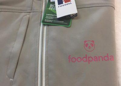 Печат на яке Foodpanda