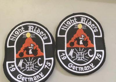 Бродерия Night Riders Germany