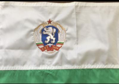 Бродерия на знаме герб