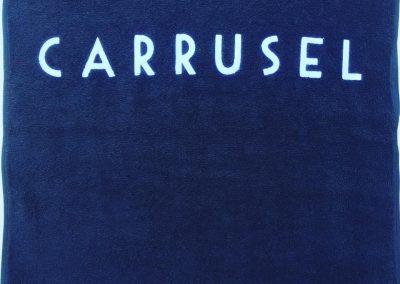 Хавлиена кърпа с бродерия CARRUSEL