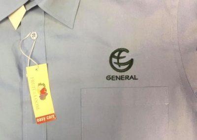 Бродерия елегантна официална риза GENERAL