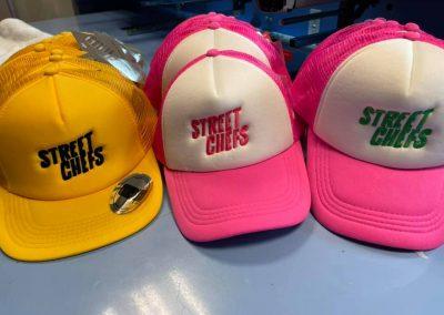 Шапки с бродерия STREET CHEFS
